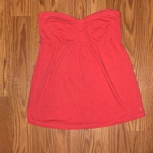 Strapless American Eagle Tube Top, Flowy bottom